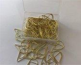 ProductGoods - Paperclips Druppel Goudkleurig - 2,5 cm - 50 stuks