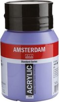 Amsterdam Standard Acrylverf 500ml 519 Ultramarijn Violet Licht