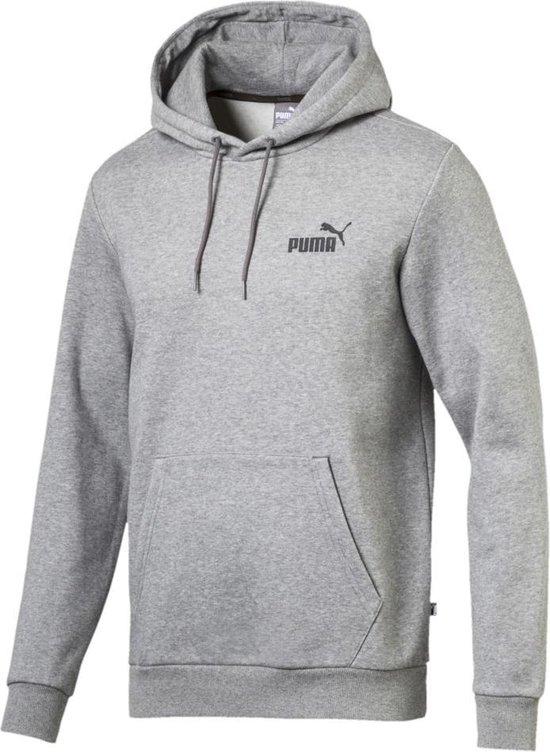 PUMA Ess Hoody Fl Vest Heren - Medium Gray Heather - Maat XL