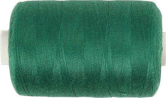 Naaigaren, l: 1000 , groen, polyester, 915m