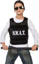 Politie & Detective Kostuum | No Sweat Swat Vest | One Size | Carnaval kostuum | Verkleedkleding