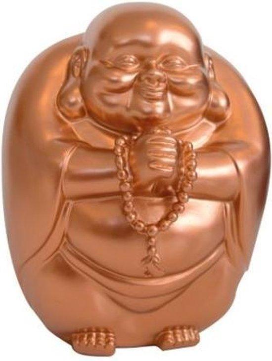 Invotis happy buddha spaarpot - Kleur - Koper