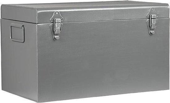 LABEL51 - Opbergbox Vintage - Medium - Industrieel - Grijs