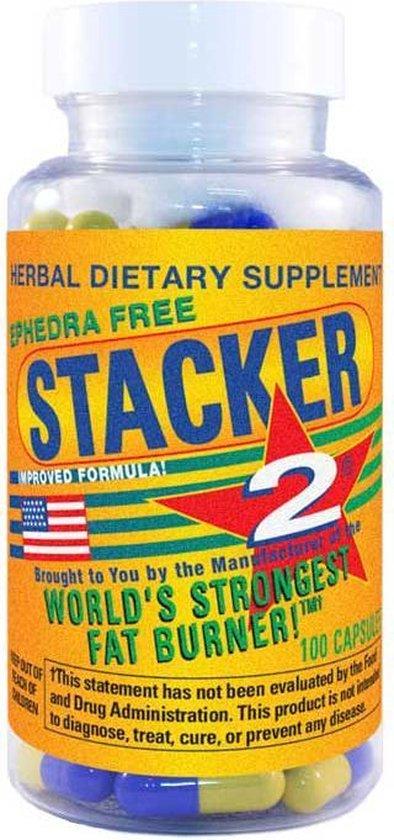 Stacker 2 Fatburner - 100 capsules - Voedingssupplement