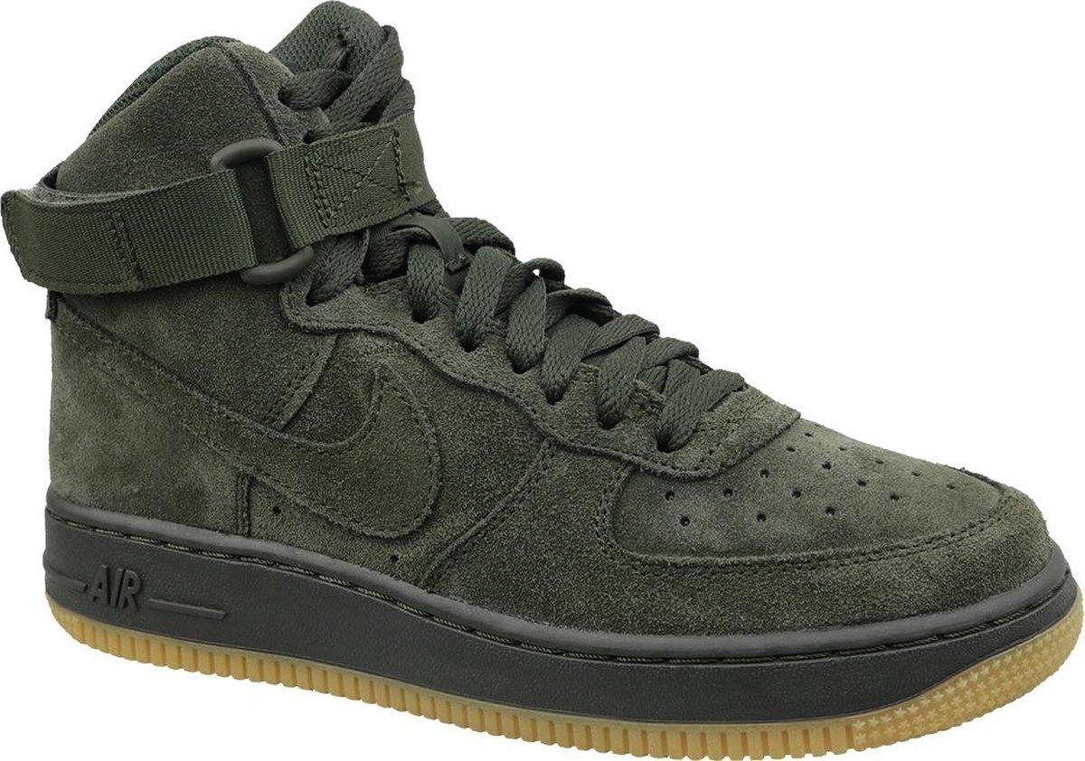 Nike Air Force 1 High Dames Groen Maat 36