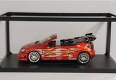 Peugeot 206 CC Tribal Coupe II Bad Rider 1:18 Norev Rood 184736