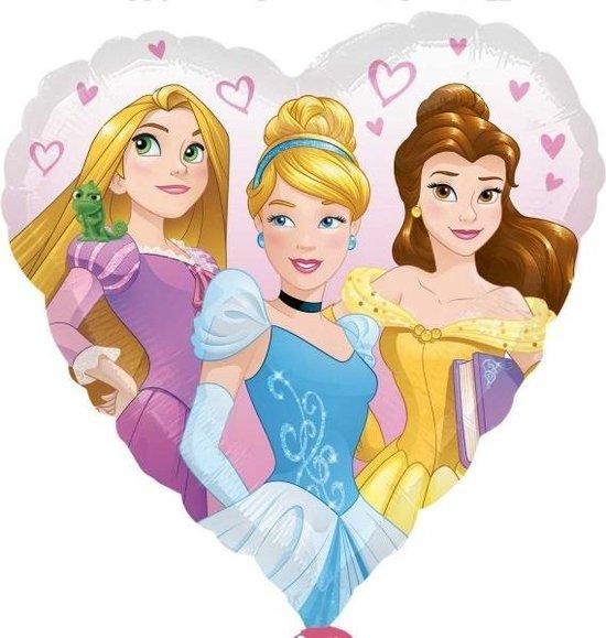 Disney Princess love folieballon 43 cm.