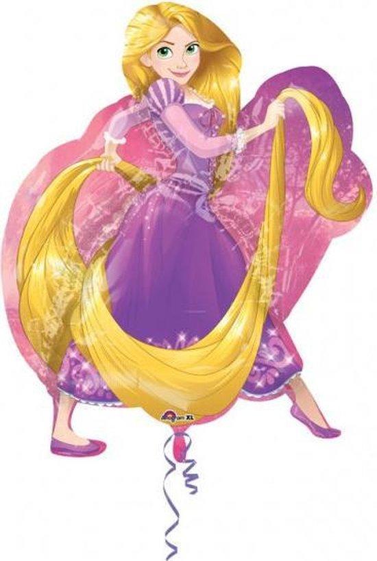 Disney Princess Rapunzel folieballon XL 66 x 78 cm.