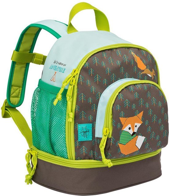 Lässig mini Rugzak little tree fox blue