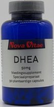 Nova Vitae, DHEA 50 mg, 90 plantaardige capsules
