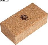 Yamkas Yoga Block Kurk | 227 x 120 x 75mm | Made in Portugal