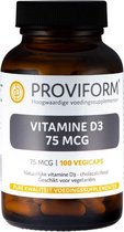 Proviform Vitamine d3 75mcg