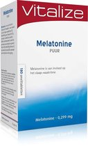 Vitalize Melatonine Puur 0,299 mg 180 Smelttabletten