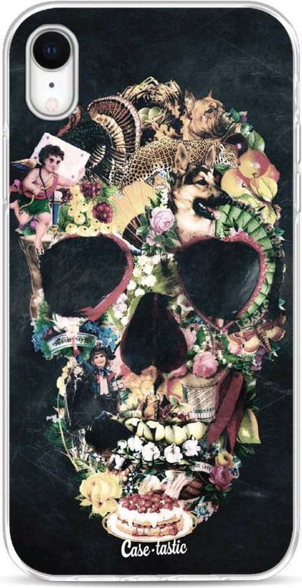 Apple iPhone XR hoesje Vintage Skull Casetastic Smartphone Hoesje softcover case