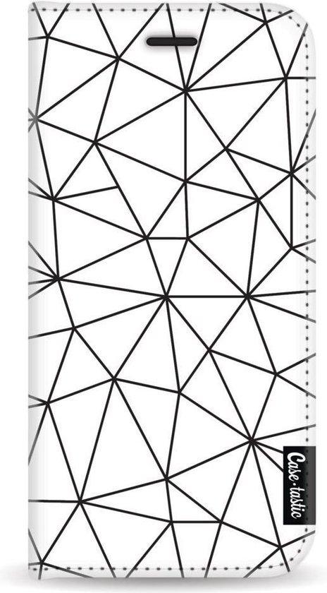 Samsung Galaxy J6 (2018) hoesje So Many Lines! Black Casetastic Smartphone Hoesje Wallet Cases case