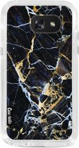 Samsung Galaxy A5 (2017) hoesje Black Gold Marble Casetastic Smartphone Hoesje Hard Cover case
