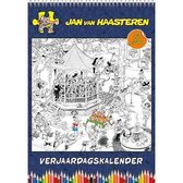 Jan van Haasteren Verjaardagskalender - Kleurplaten (formaat A4)
