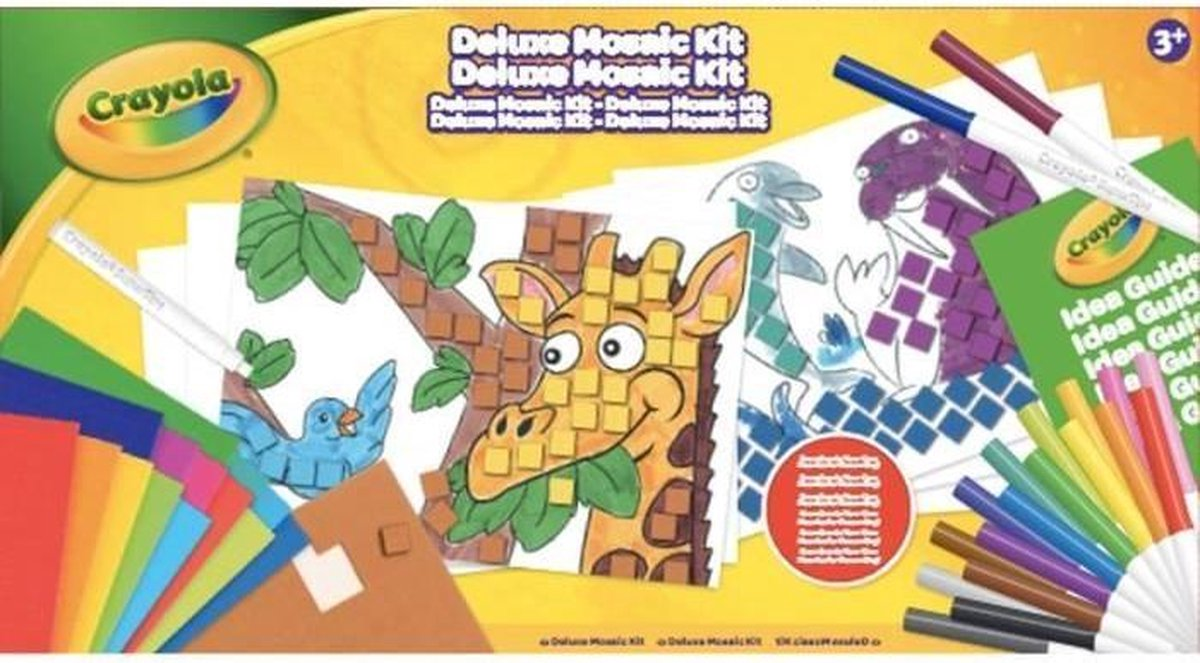 Crayola - Moza?ek Set - Activiteiten voor kinderen - Crayola Kit