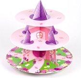 Culpitt 3 laags Cupcake Standaard Prinses