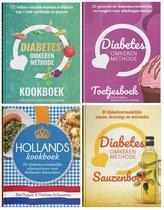Diabetes Omkeren Methode Kookboek & Toetjesboek & Hollands Kookboek & Sauzenboek Combinatie Aanbieding