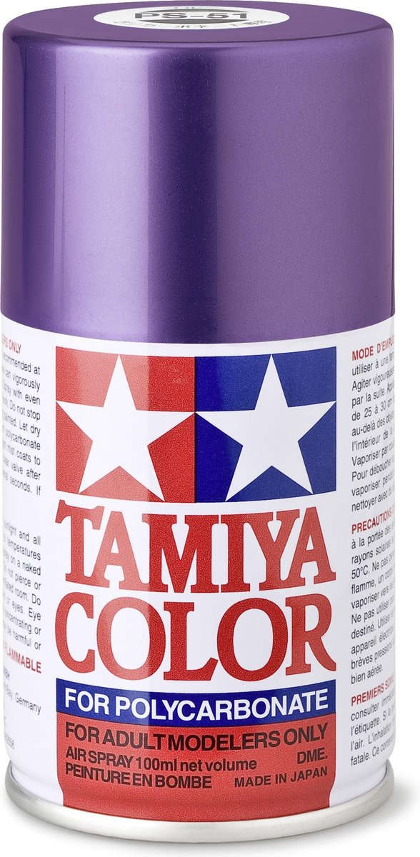 TAMIYA PS-51 Purple anodized aluminium (spuitbus 100ml)