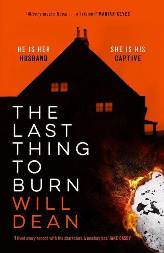 Boek cover The Last Thing to Burn van Will Dean (Onbekend)