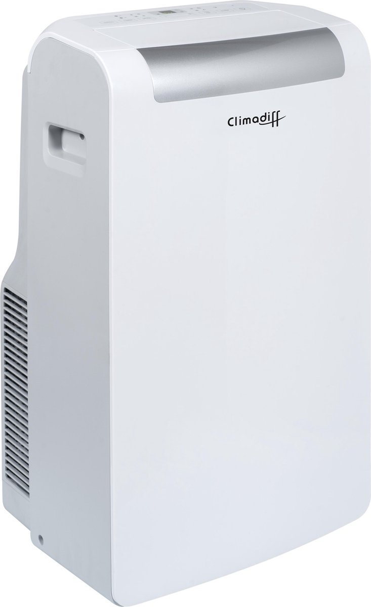 Climadiff CLIMA10K1 - Mobiele airconditioner - 20m2 - 10.000 BTU - Wit