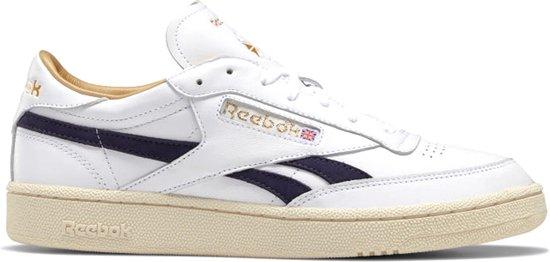 Reebok Sneakers - Maat 45.5 - Mannen - wit/ donker blauw/ goud