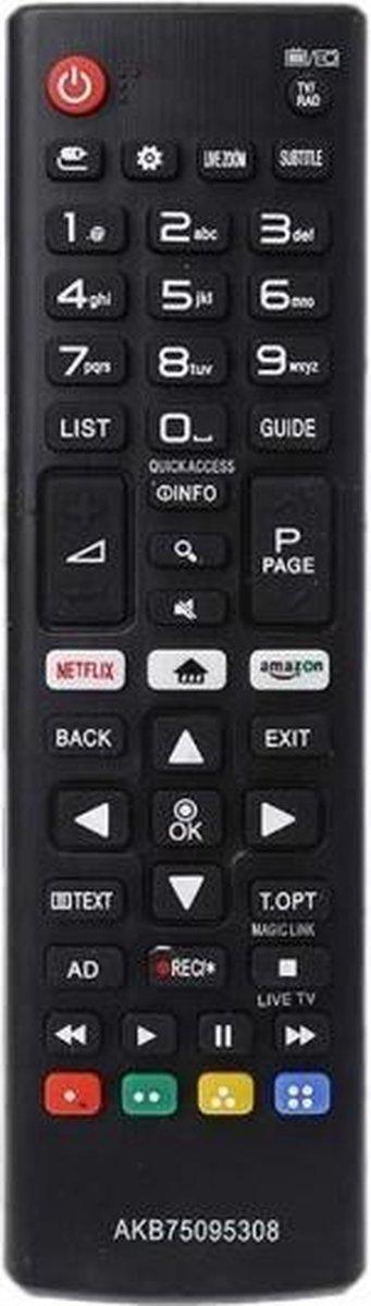(Universele) afstandsbediening geschikt voor alle LG Tv's (met Netflix knop!)