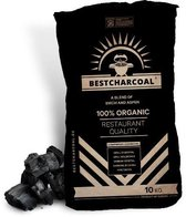 Bestcharcoal - Houtskool Birch/Aspen - 10 kg
