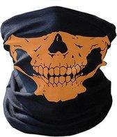 Balaclava Gezicht Shield Tactische Masker  3D Schedel Sport Nek Warm Volgelaatsmasker Motor Masker Winddicht Motorfiets Mondkap Ski Outdoor Sport