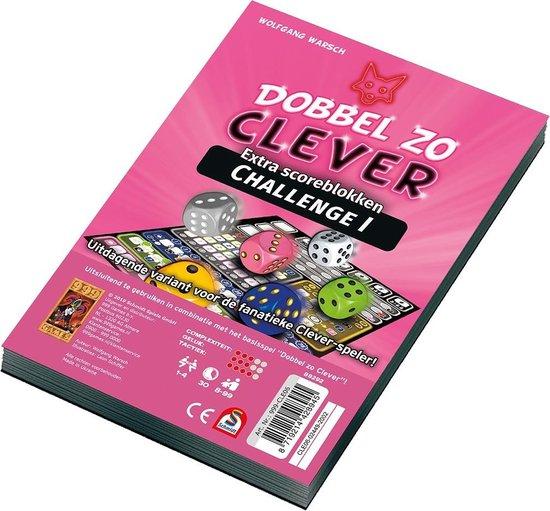 Dobbel zo Clever Challenge Scoreblok - Uitbreiding - Dobbelspel