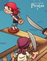 Livro para Colorir de Piratas 2