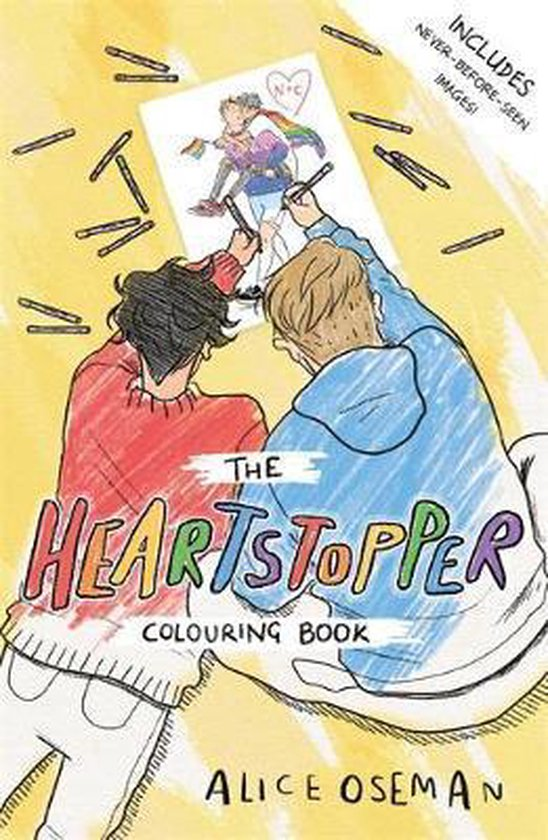 Boek cover The Heartstopper Colouring Book van Alice Oseman (Paperback)