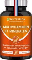 Multivitaminen - helpt natuurlijk afweersysteem •  Nutrimea - 90 caps