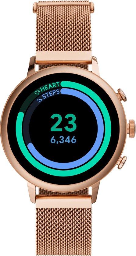 Fossil Q Venture Gen 4 FTW6031 - Smartwatch - goud