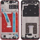 Originele middenkaderring voor Huawei P40 Lite E / Enjoy 10 (rood)
