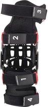 Alpinestars Bionic-10 Black Red Carbon Left Knee Brace  XL-XXL