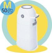 Luieremmer Medium Zilver - Middel - Zonder Navulling - Geschikt voor Pampers en Huggies - Stoma