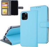 iPhone 11 Blauw Pasjeshouder Booktype hoesje - Magneetsluiting
