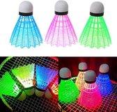 Badminton - Lichtgevende shuttles - 3 stuks