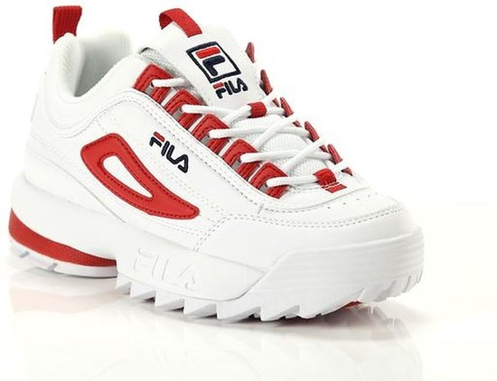 FILA Disruptor CB Low red white