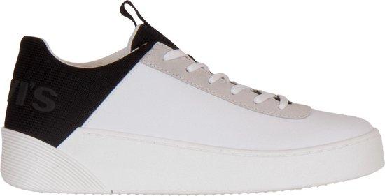 Levi Sneakers - Maat 39 - Vrouwen - wit/zwart