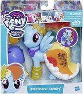 My little pony Rainbow Dash Friendship is magic snap on fashion