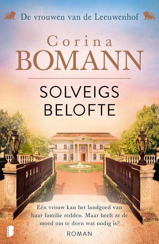 Boek cover Vrouwen van de Leeuwenhof 3 - Solveigs belofte van Corina Bomann