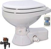 Jabsco 24V elektrisch Toilet met Magneetklep en compacte Pot 37045-3094