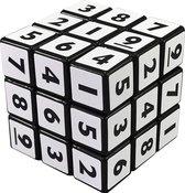 Kubus puzzel breinbreker cijfers  5,7 x 5,7 x 5,7 cm met cijfers 1 t/m 9 sudoku