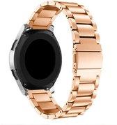 Metaal schakel bandje Roségoud geschikt voor Samsung Galaxy Watch 42mm - SmartphoneClip