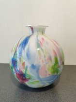 Bolvaas met nek pastel colour - Fidrio