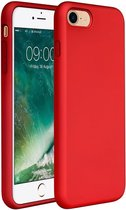 Apple iPhone 7 & 8 Hoesje Rood - Siliconen Back Cover